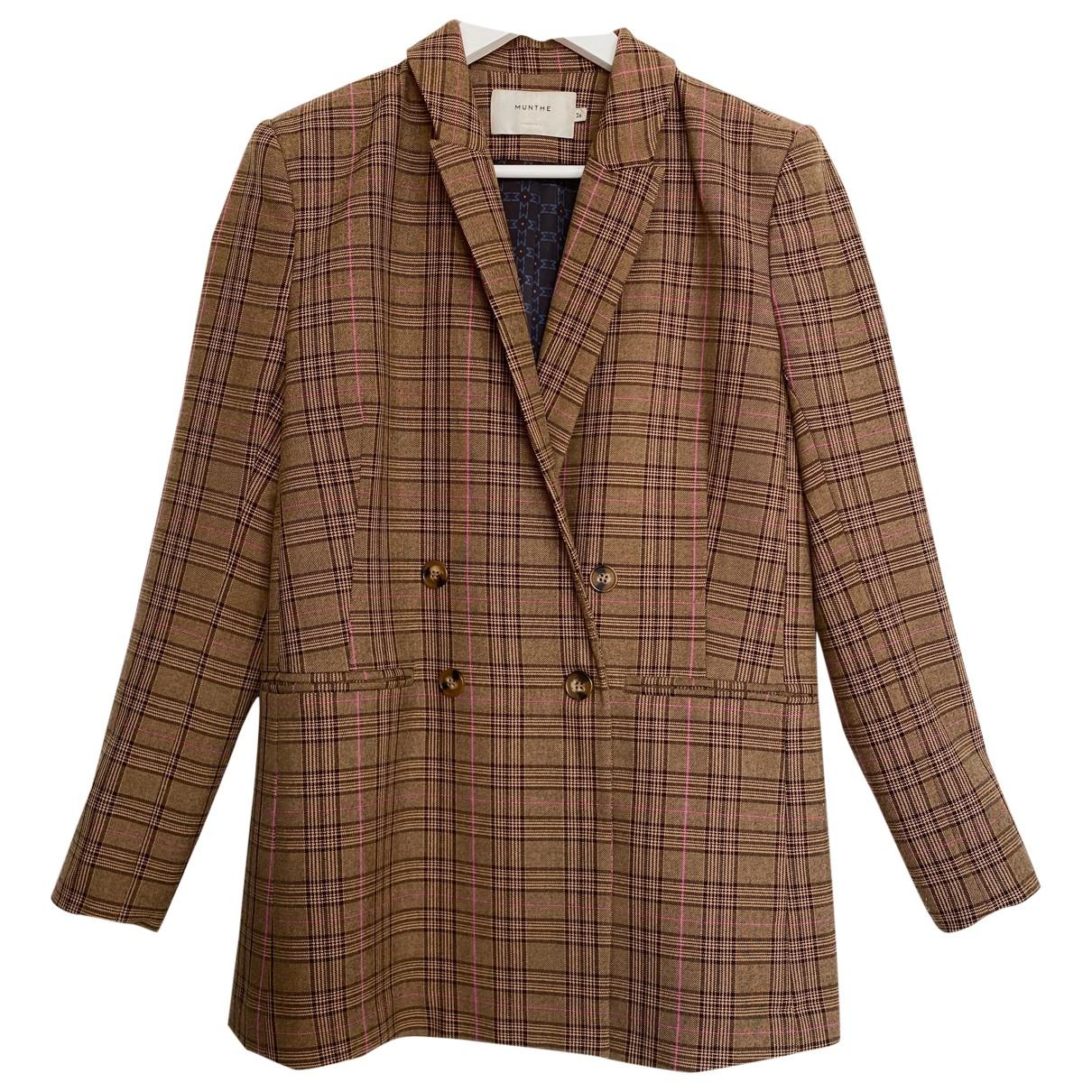 Munthe \N Brown jacket for Women 36 FR