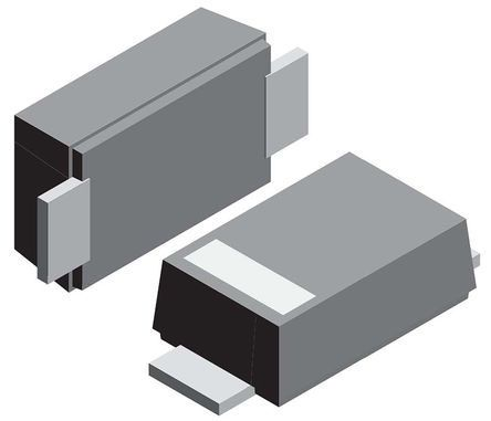 Vishay 40V 1A, Schottky Diode, 2-Pin DO-219AB SS1F4-M3/H (100)