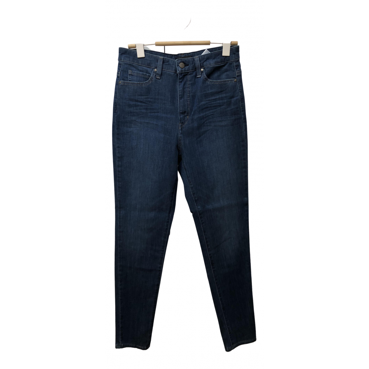 Uniqlo \N Blue Cotton - elasthane Jeans for Women 27 US
