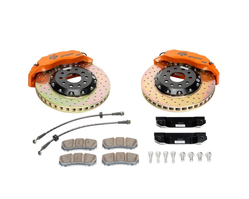 Ksport BKLX160-443CO Procomp 4 Piston 356mm Rear Big Brake Kit - Drilled Lexus RX330 2003-2009