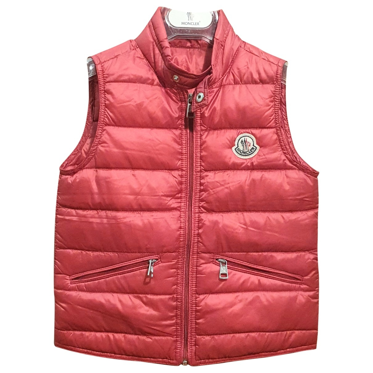 Moncler Sleeveless Red jacket & coat for Kids 6 years - up to 114cm FR