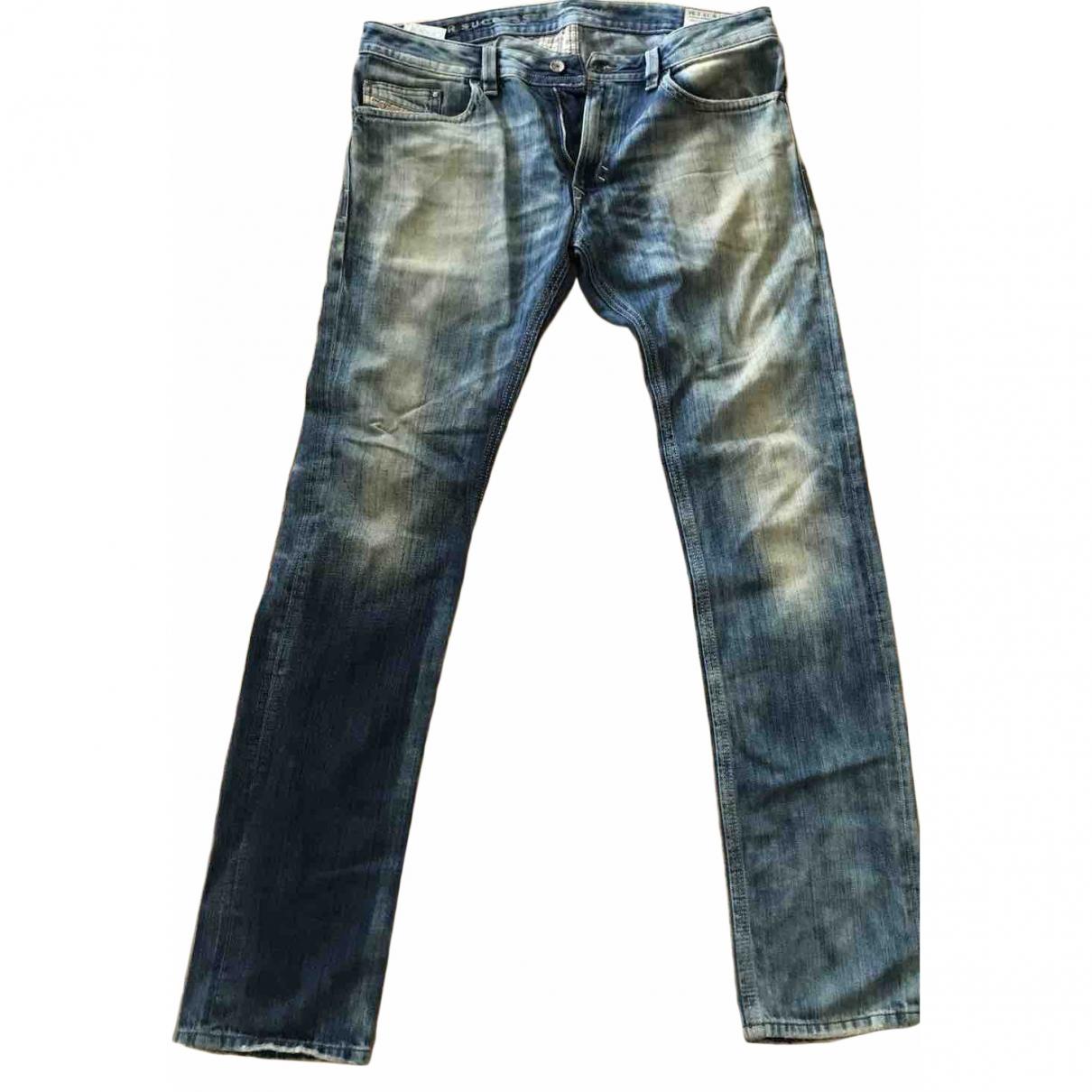Diesel \N Blue Cotton Jeans for Men 33 US