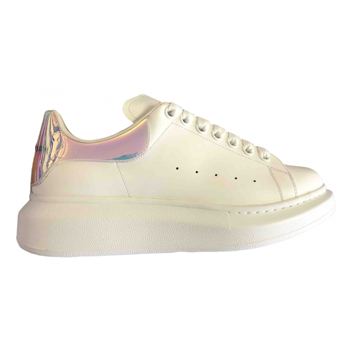 Alexander Mcqueen Oversize Multicolour Leather Trainers for Women 39 EU