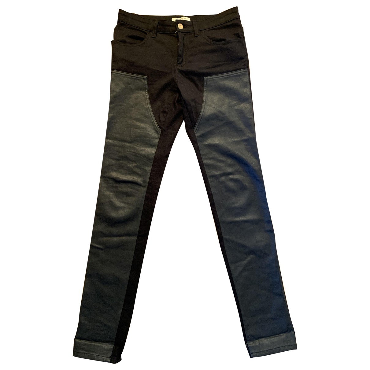 Givenchy \N Black Cotton Jeans for Women 36 FR