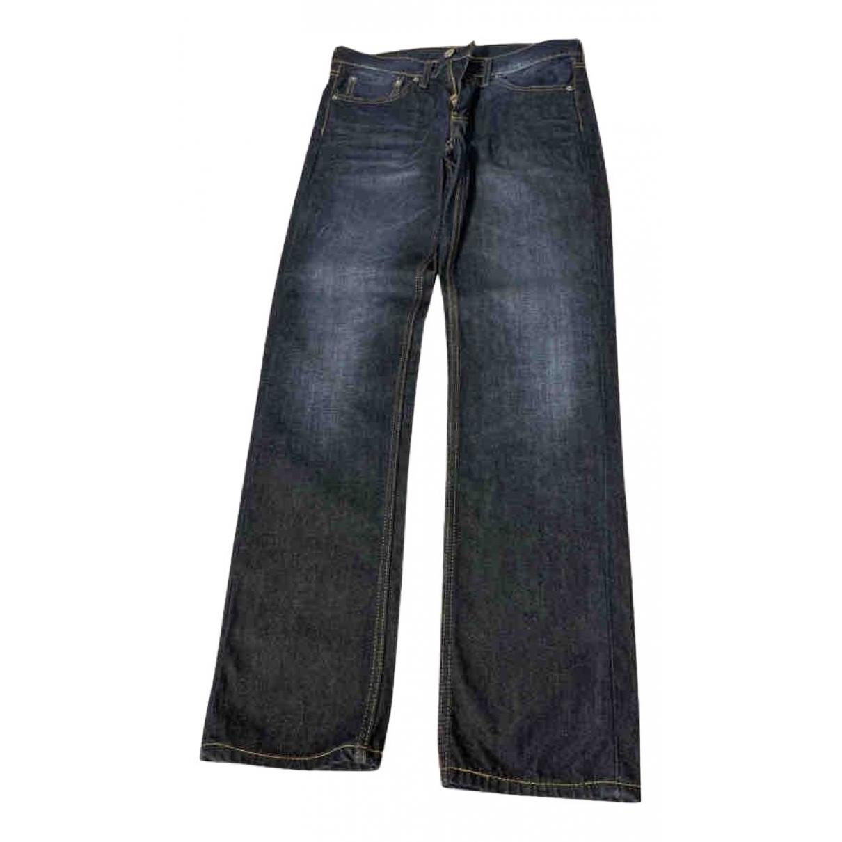 Levi's 511 Blue Cotton Jeans for Men 32 US