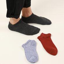 3 pares calcetines de hombres tobilleros