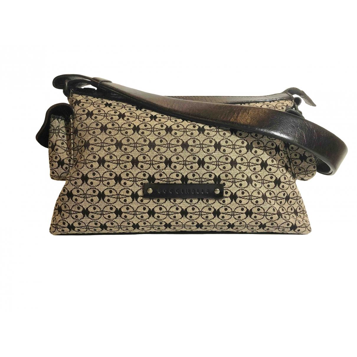 Coccinelle \N Handtasche in  Beige Leinen
