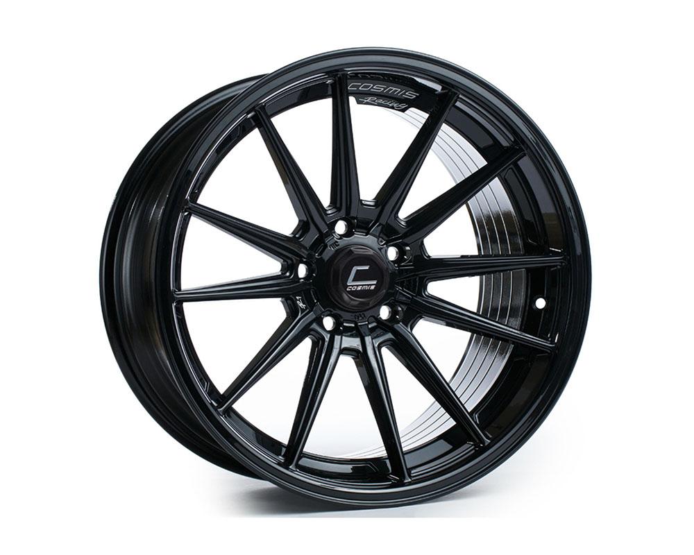 Cosmis Racing R1-1895-35-5X114.3-B R1 Wheel 18x9.5 5x114.3 +35mm Black