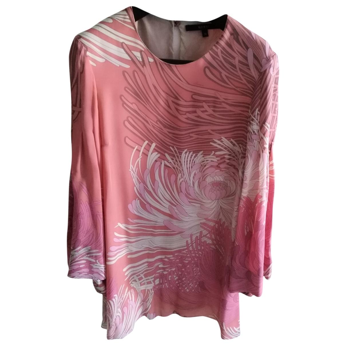Gucci \N Kleid in  Rosa Seide