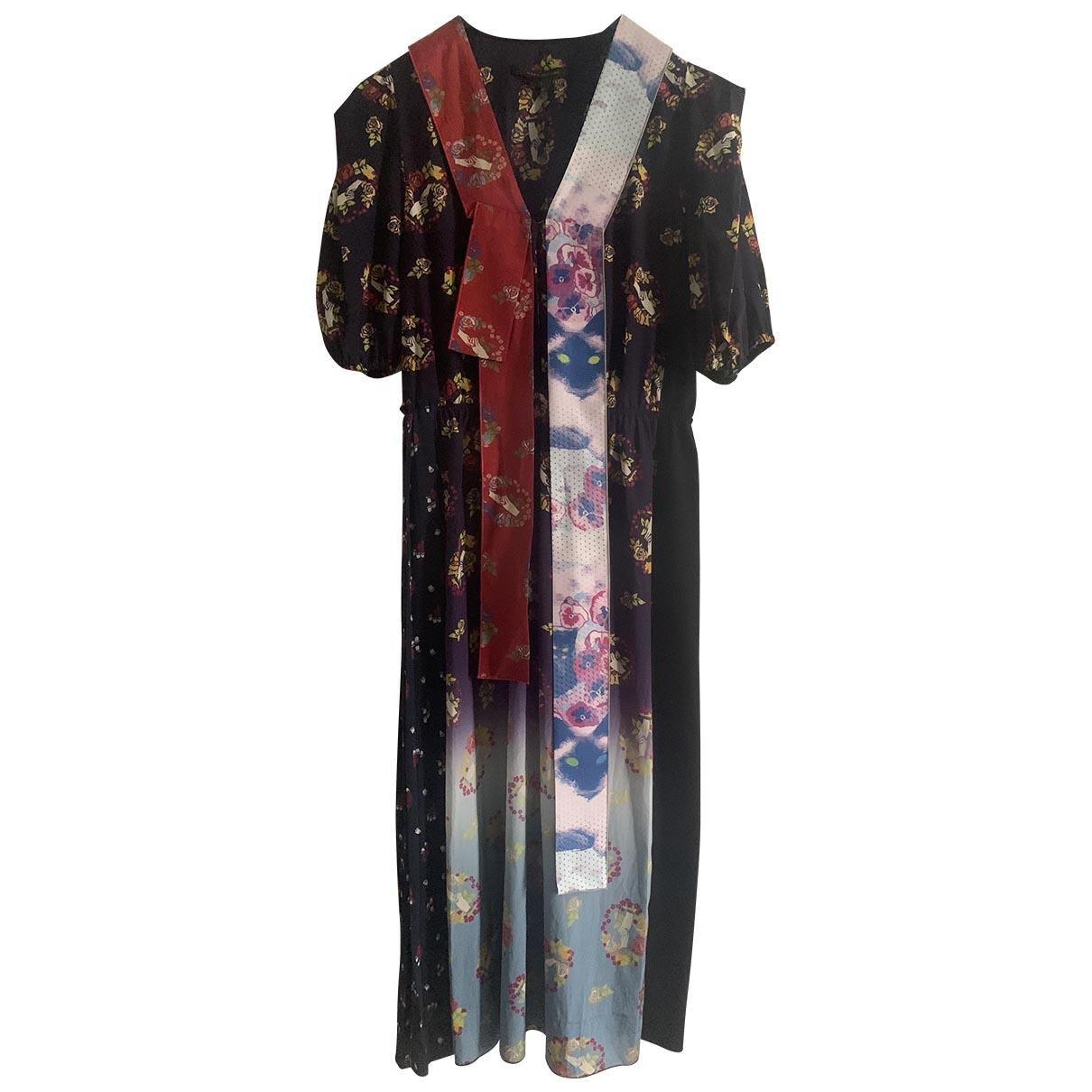 Marc Jacobs \N Multicolour Silk dress for Women 4 US