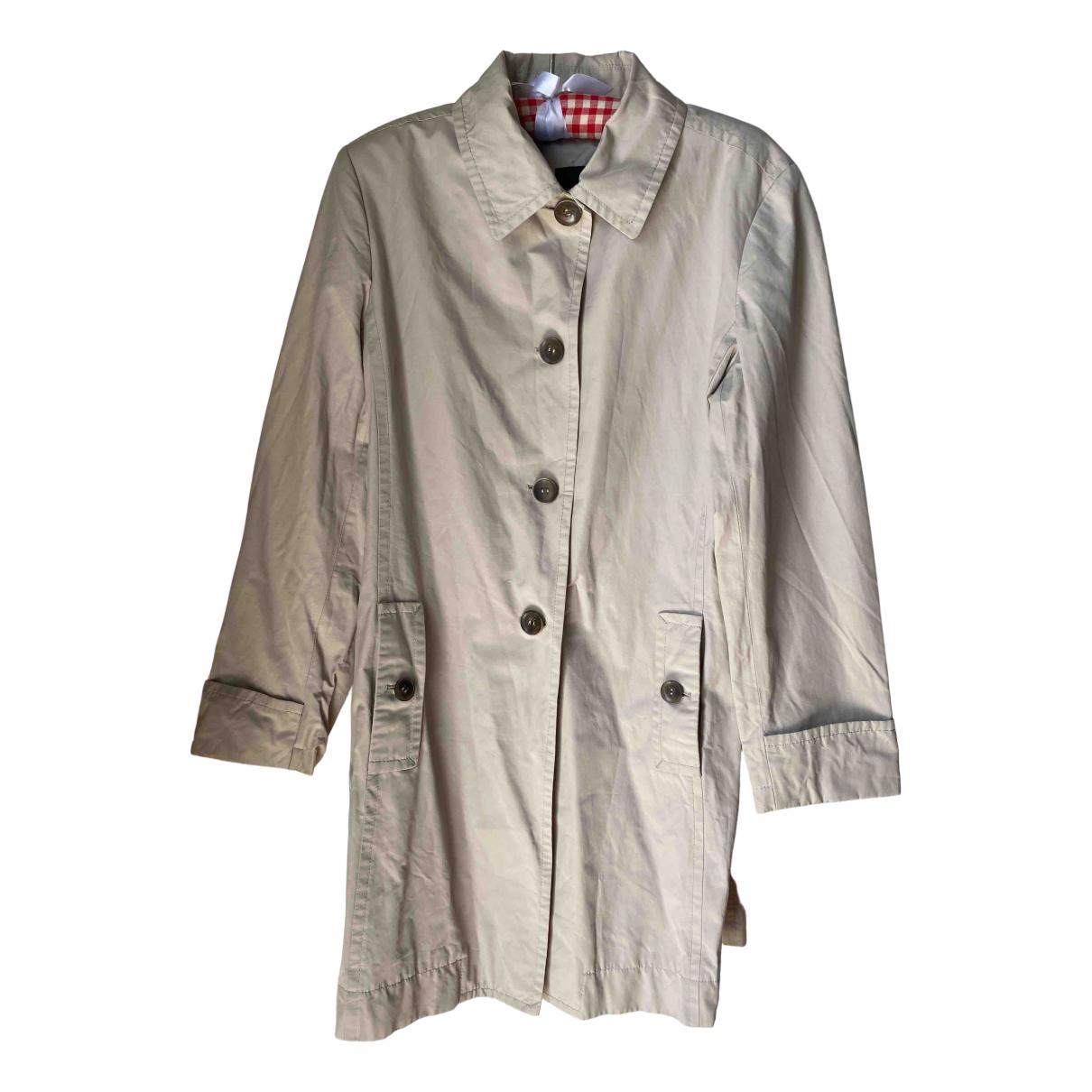Max Mara Weekend - Manteau   pour femme en coton - beige