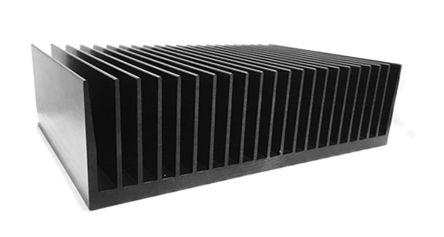 ABL Components Heatsink, Universal Rectangular Alu, 0.12°C/W, 100 x 300 x 83mm, PCB Mount