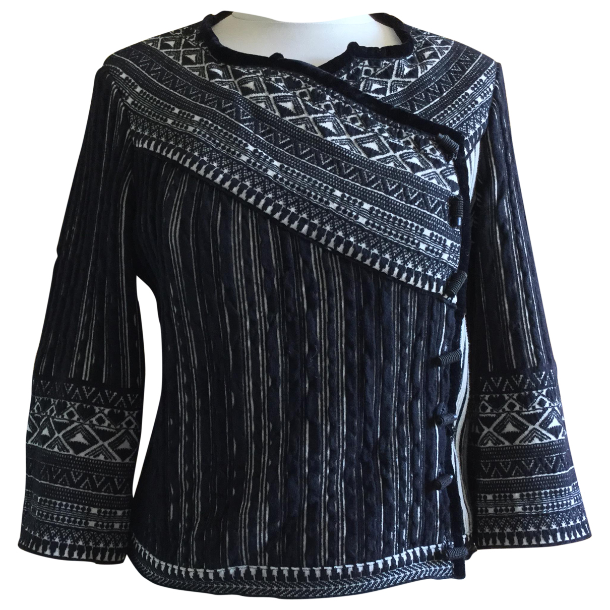 Jean Paul Gaultier N Black Wool Knitwear for Women L International
