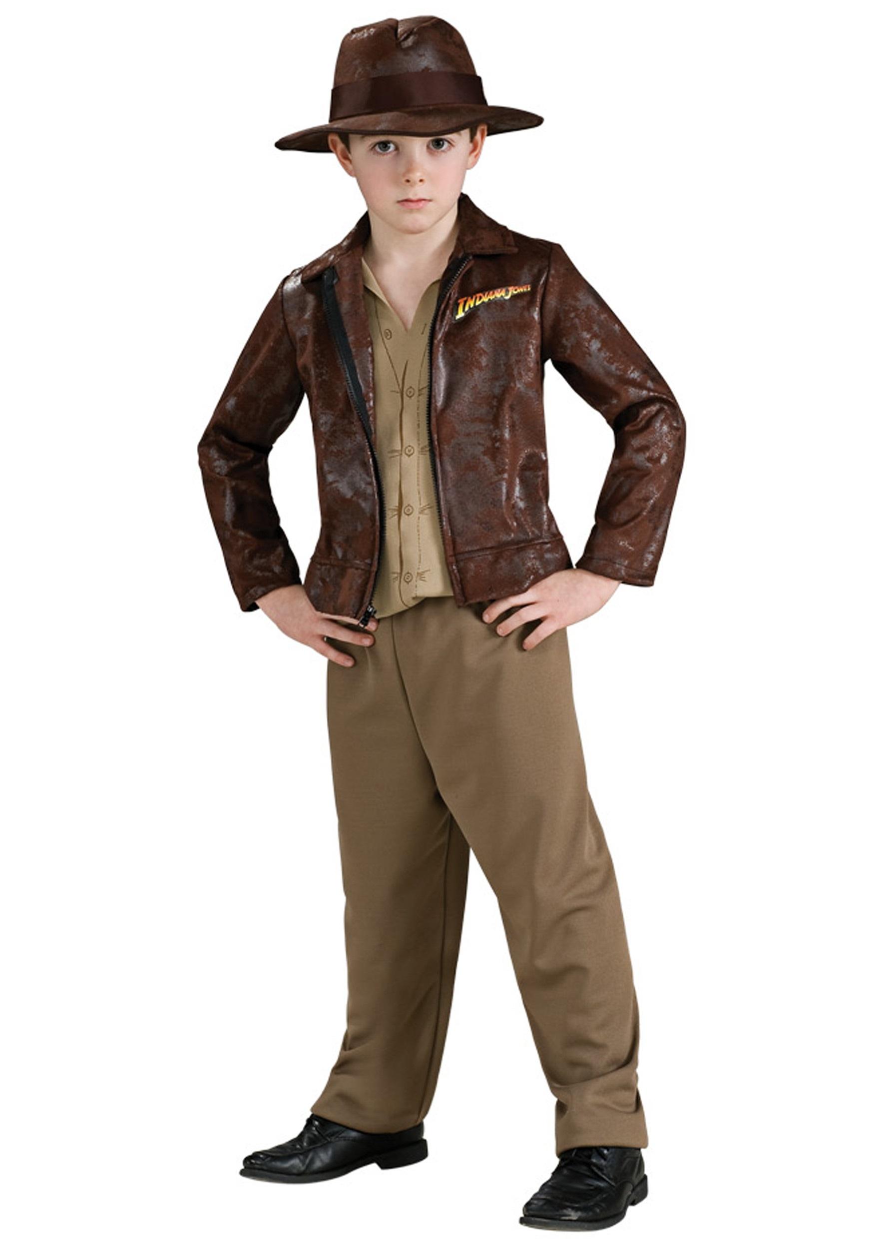 Deluxe Boys Indiana Jones Costume