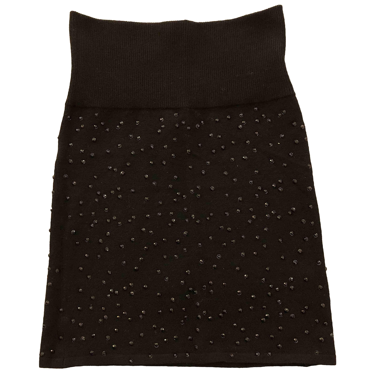 Zadig & Voltaire \N Black Wool skirt for Women 34 FR