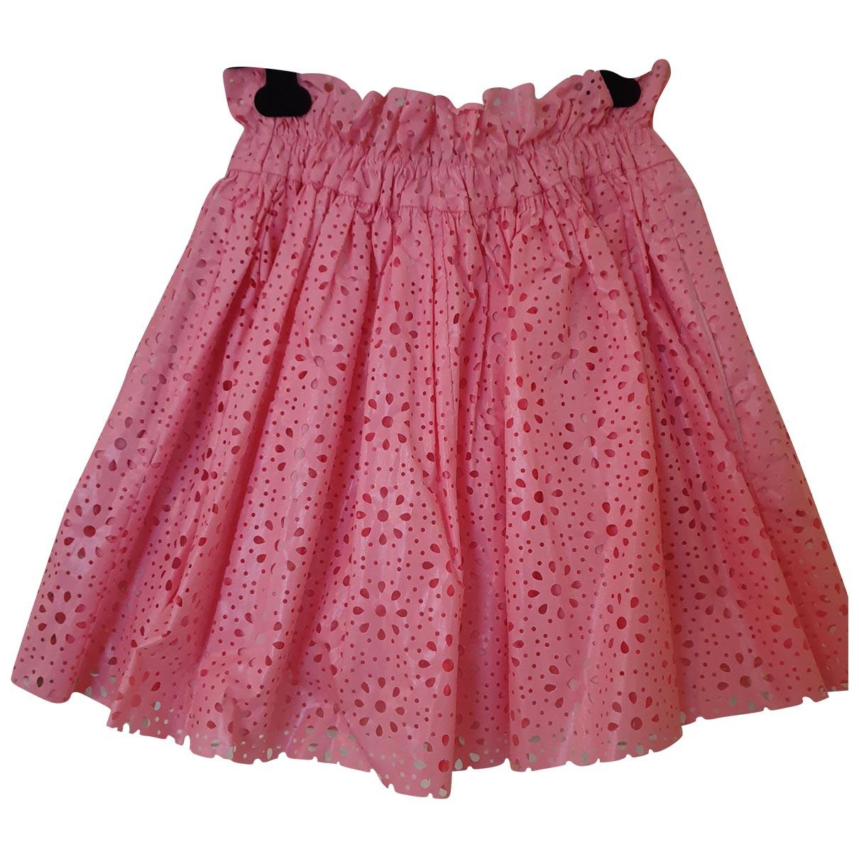 Msgm - Jupe   pour femme en coton - rose