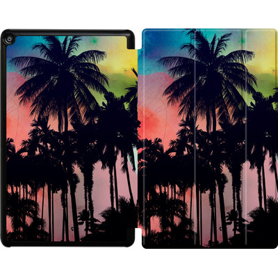 Amazon Fire HD 10 (2018) Tablet Smart Case - Palm Trees at Sunset von Mark Ashkenazi