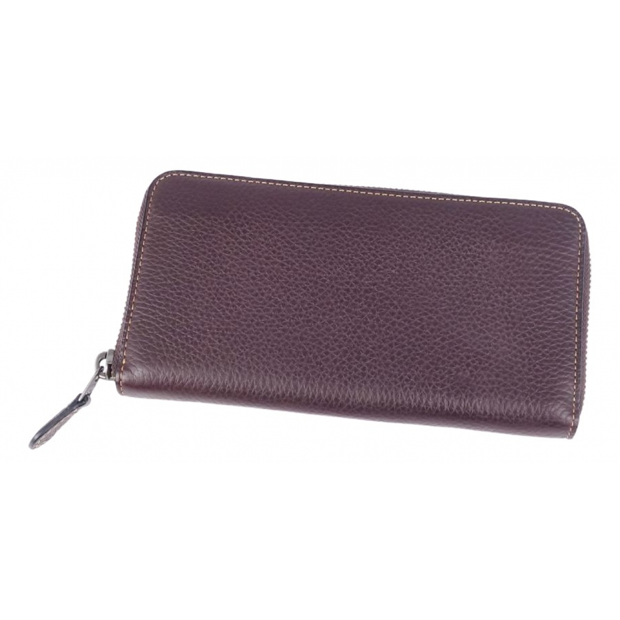 Coach \N Brown Leather wallet for Women \N