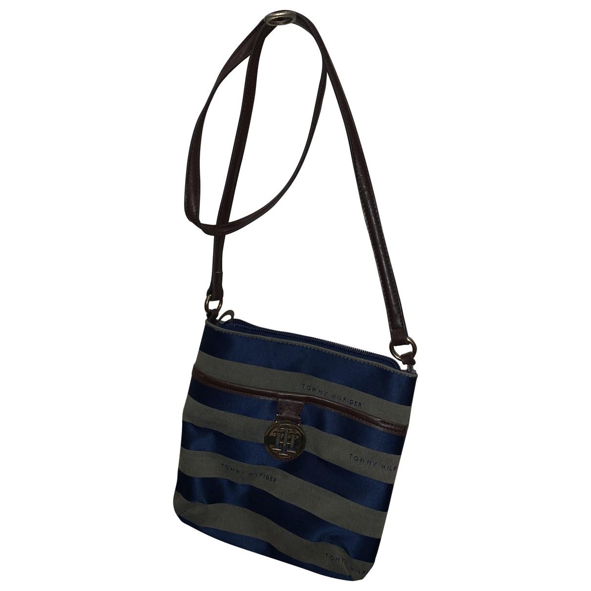 Tommy Hilfiger N Blue Cloth handbag for Women N