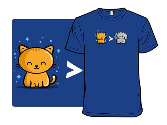 Cat Or Dog T Shirt