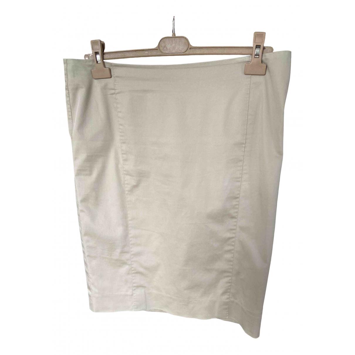 Max Mara Studio - Jupe   pour femme en coton - beige