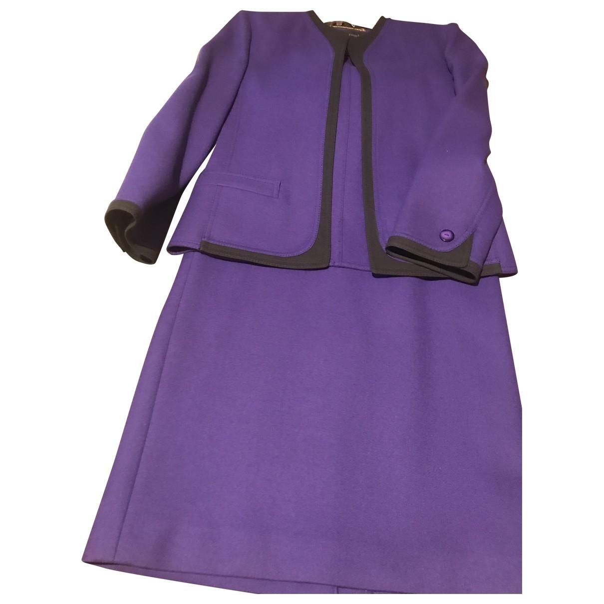 Louis Feraud - Jupe   pour femme en laine - violet