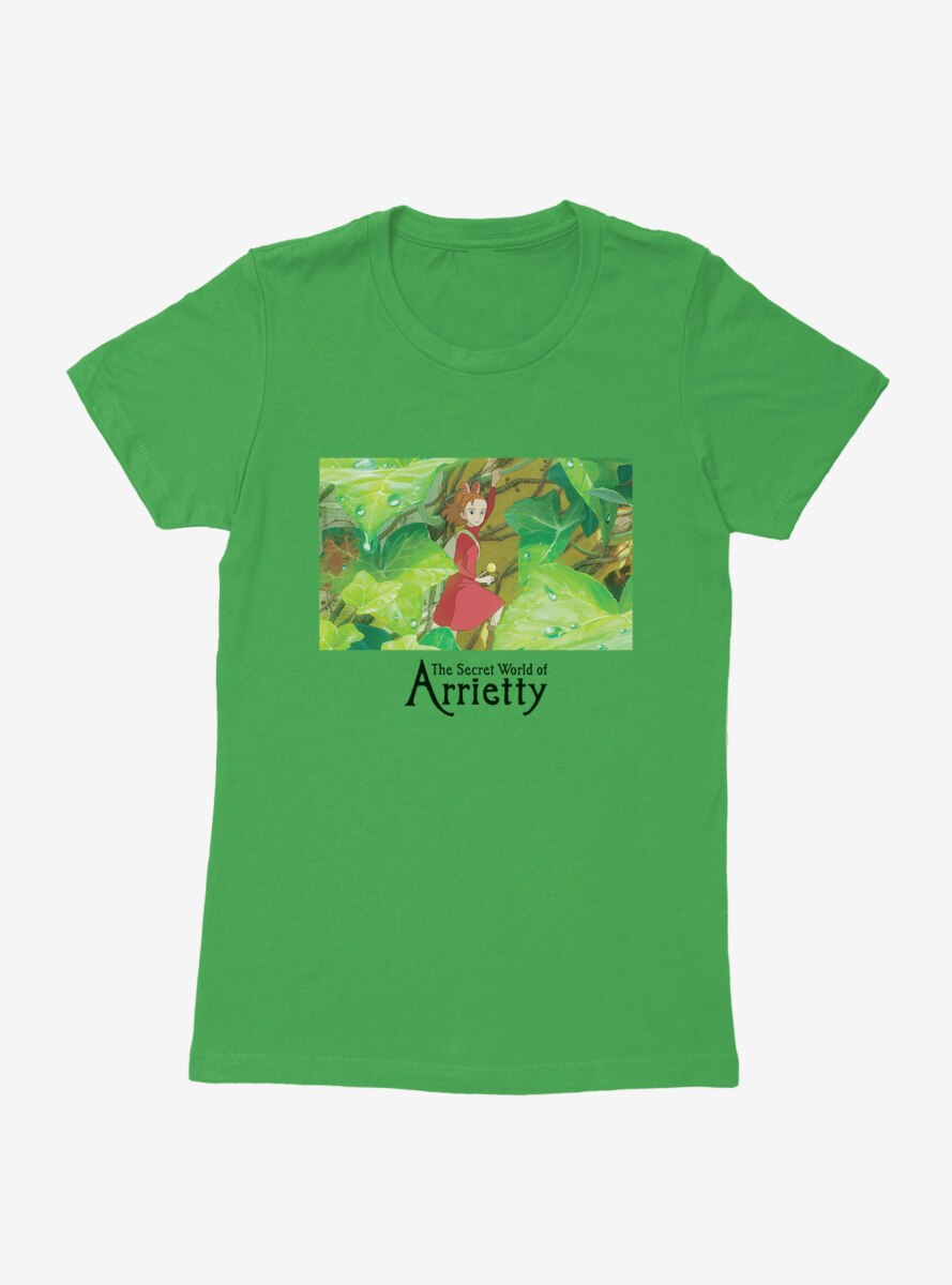 Studio Ghibli The Secret World Of Arrietty Womens T-Shirt