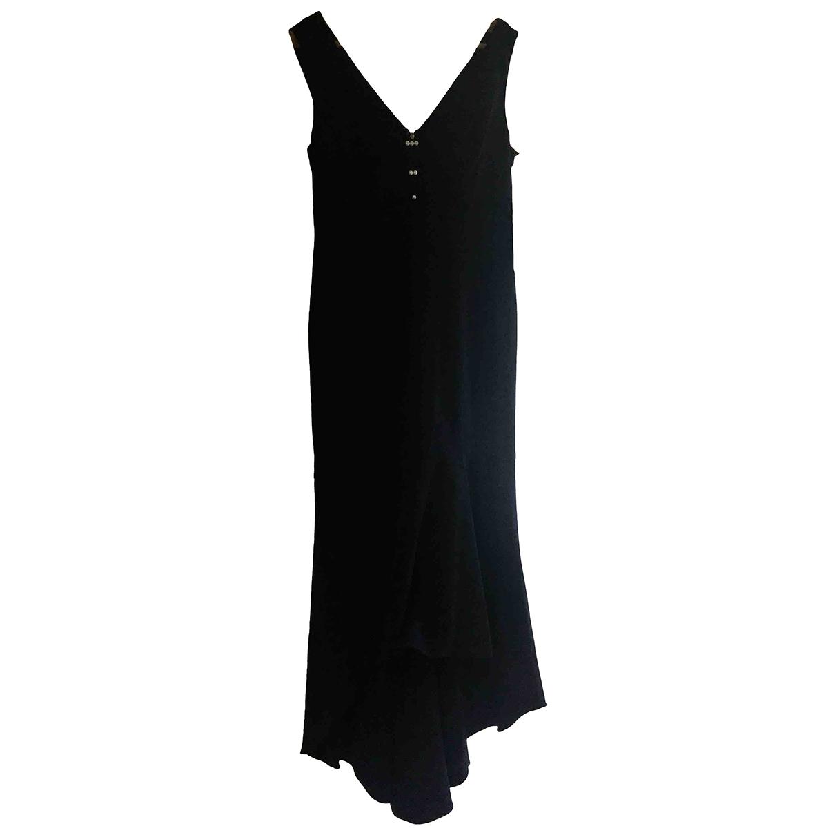 Karl Lagerfeld \N Kleid in  Marine Polyester