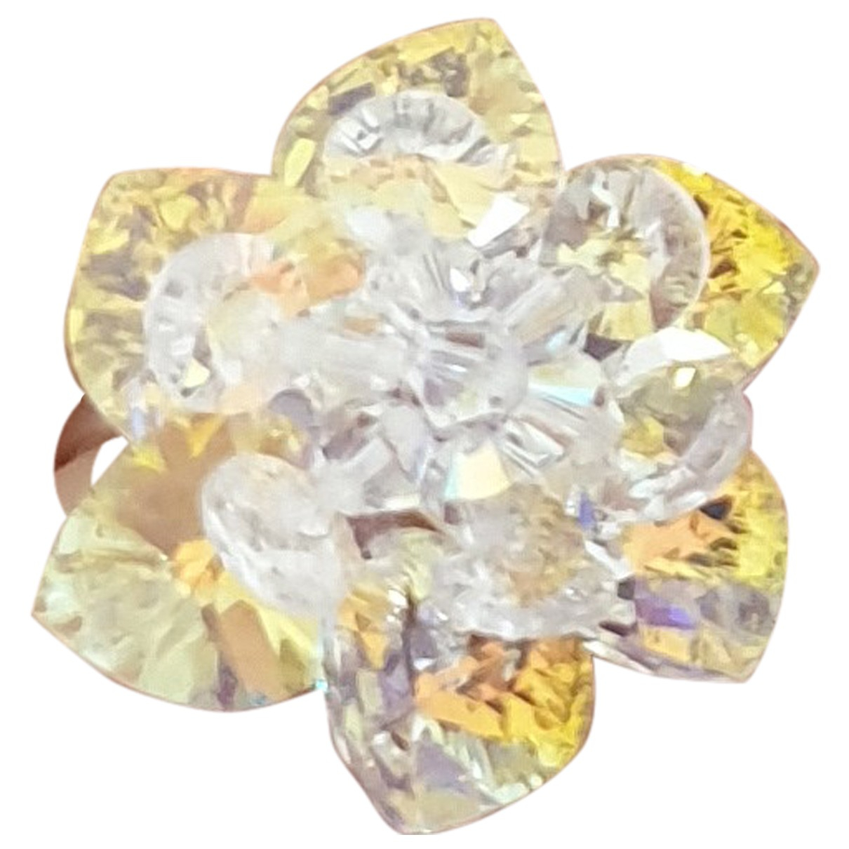 Swarovski - Bague   pour femme en argent - multicolore