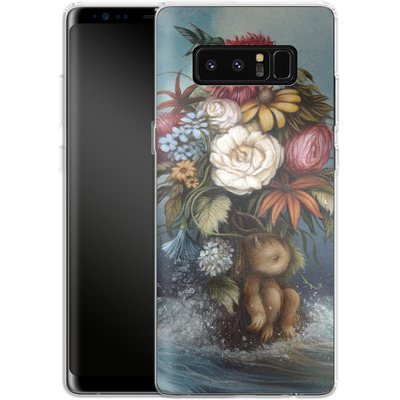 Samsung Galaxy Note 8 Silikon Handyhuelle - Hopeless Romantic von Dan May