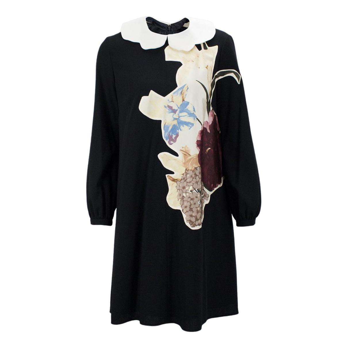 Valentino Garavani - Robe   pour femme en laine - multicolore