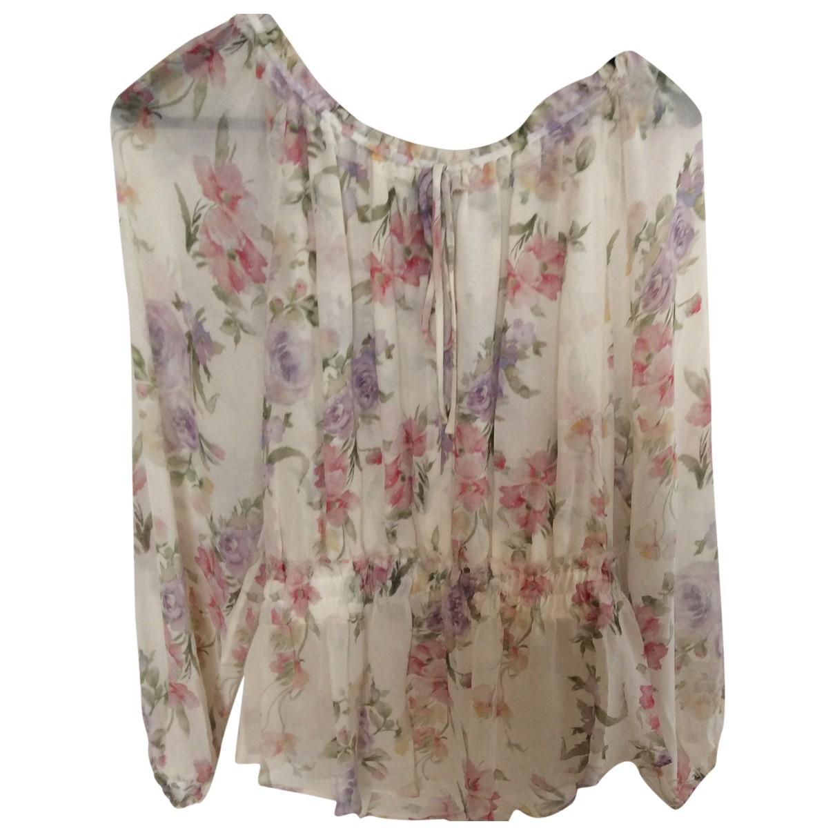 Love Shack Fancy \N White Silk  top for Women L International