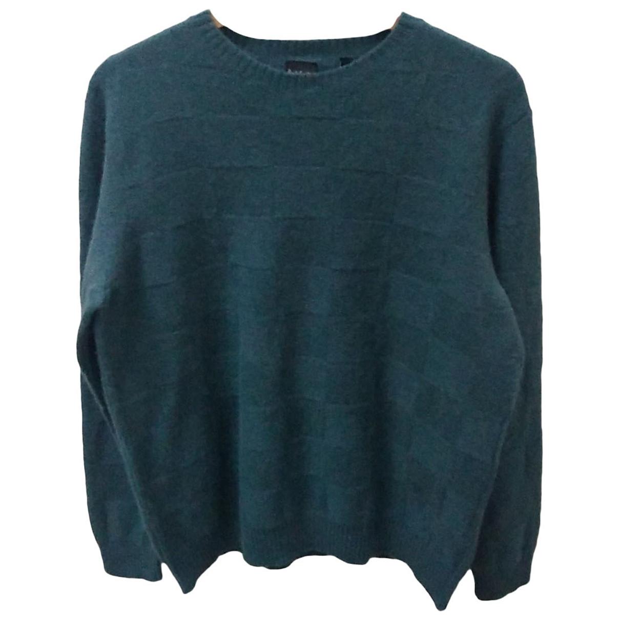 Paul Smith \N Pullover.Westen.Sweatshirts  in  Gruen Wolle