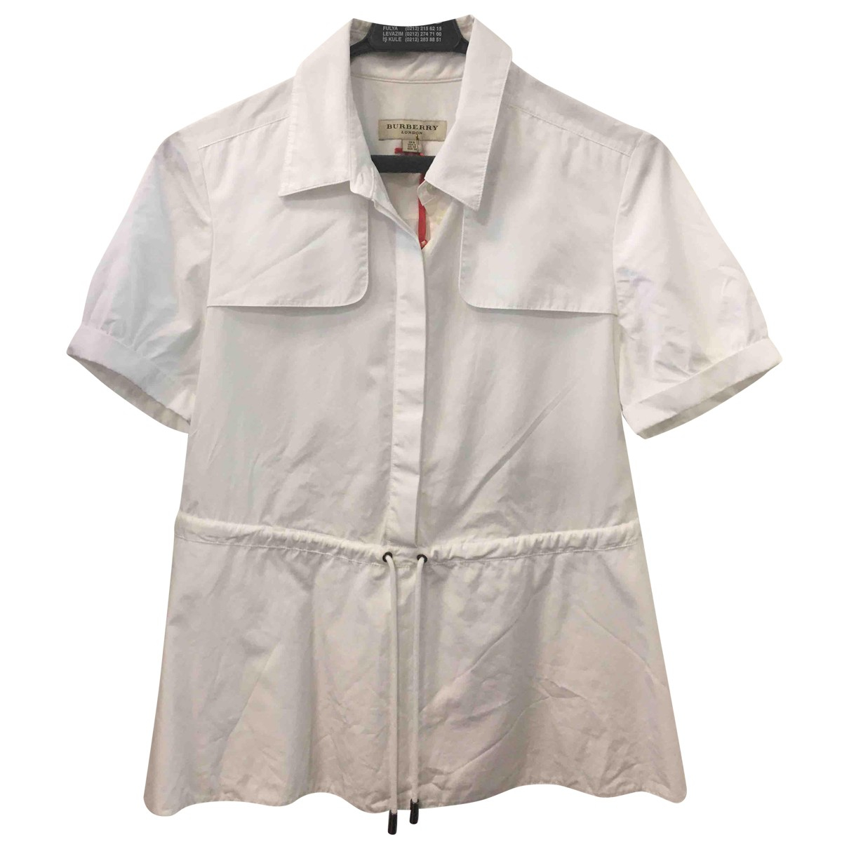 Burberry \N White Cotton  top for Women 6 UK