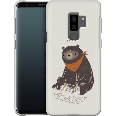 Samsung Galaxy S9 Plus Smartphone Huelle - Sushi Bear von Louis Ros