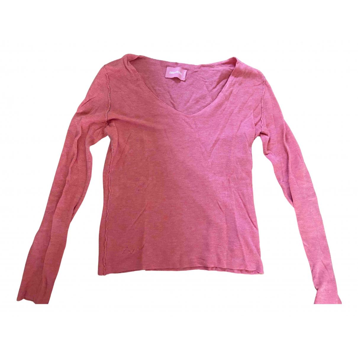 Zadig & Voltaire \N Pink Cotton Knitwear for Women S International