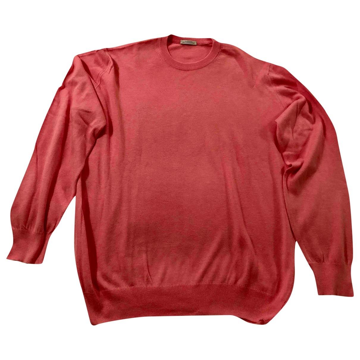 Ballantyne - Pulls.Gilets.Sweats   pour homme en coton - rose
