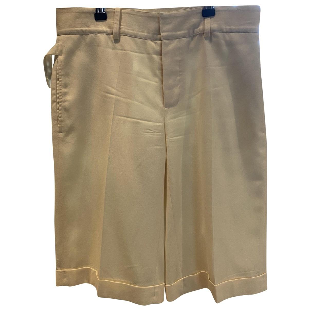 Ralph Lauren \N Beige Cotton Shorts for Women 4 US
