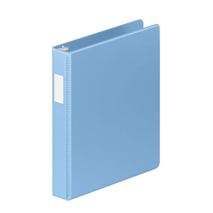 Wilson Jones® 368 Basic Round Ring Binders, 1-1/2