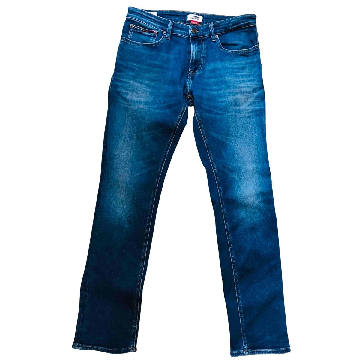 Tommy Hilfiger \N Blue Cotton Jeans for Men M International