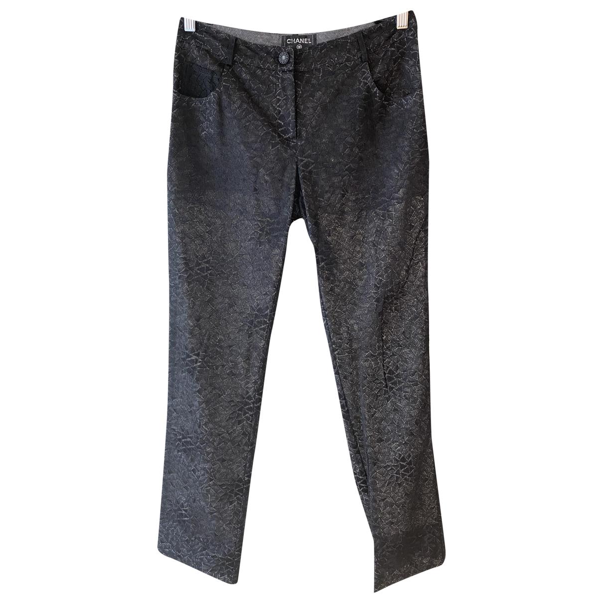 Pantalon recto Chanel