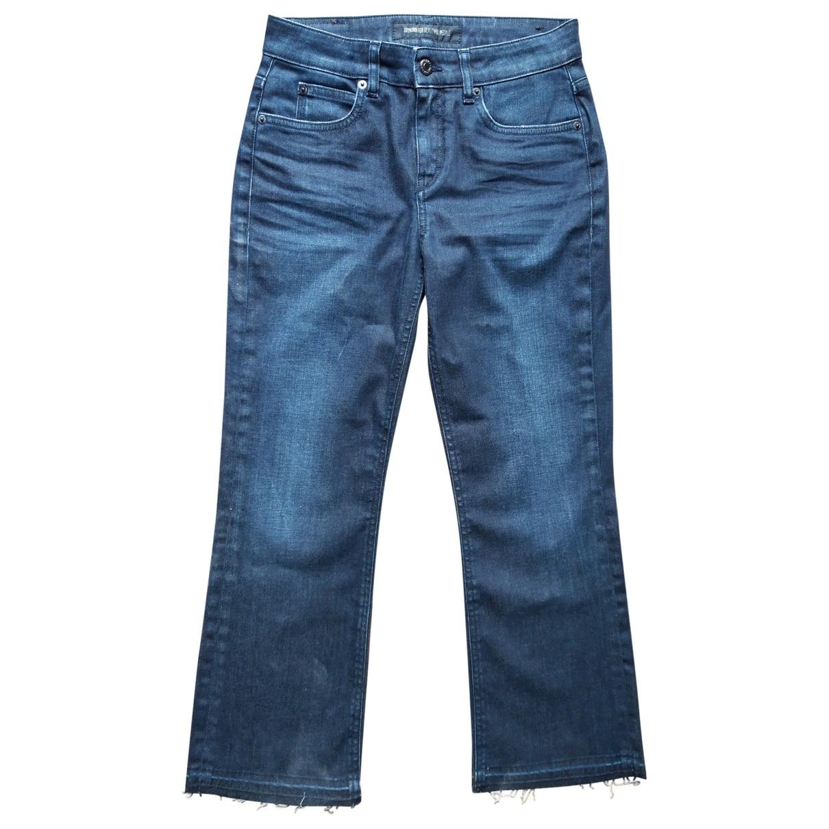 Drykorn \N Blue Denim - Jeans Jeans for Women 28 US