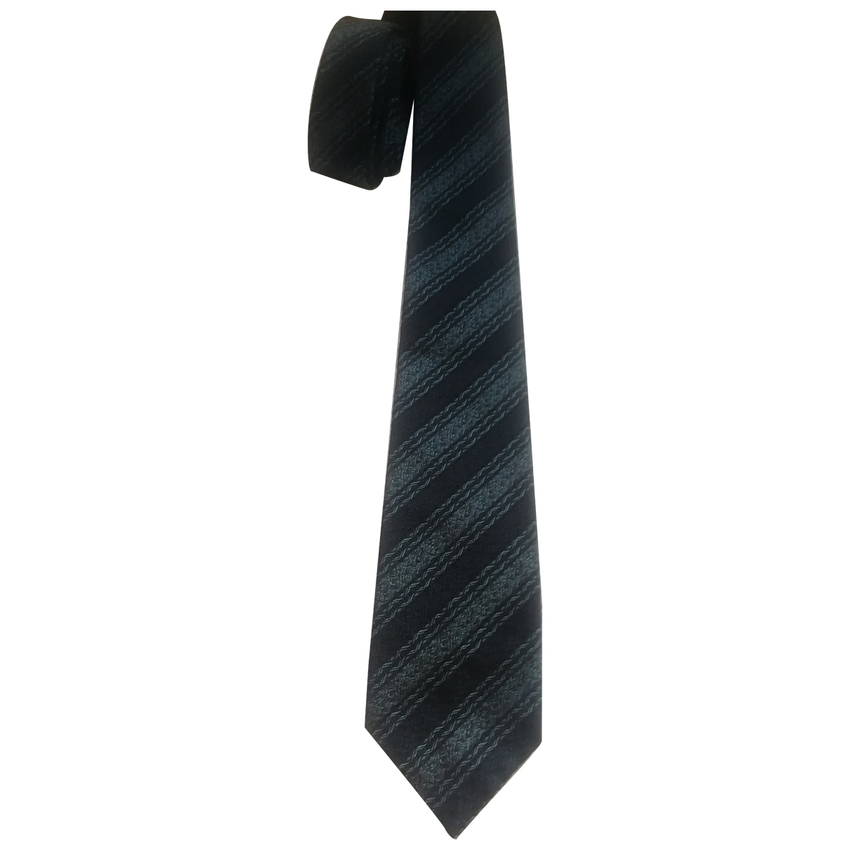 Romeo Gigli - Cravates   pour homme en soie - gris