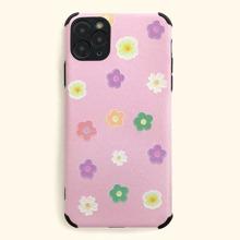 iPhone Etui mit Blumen Muster