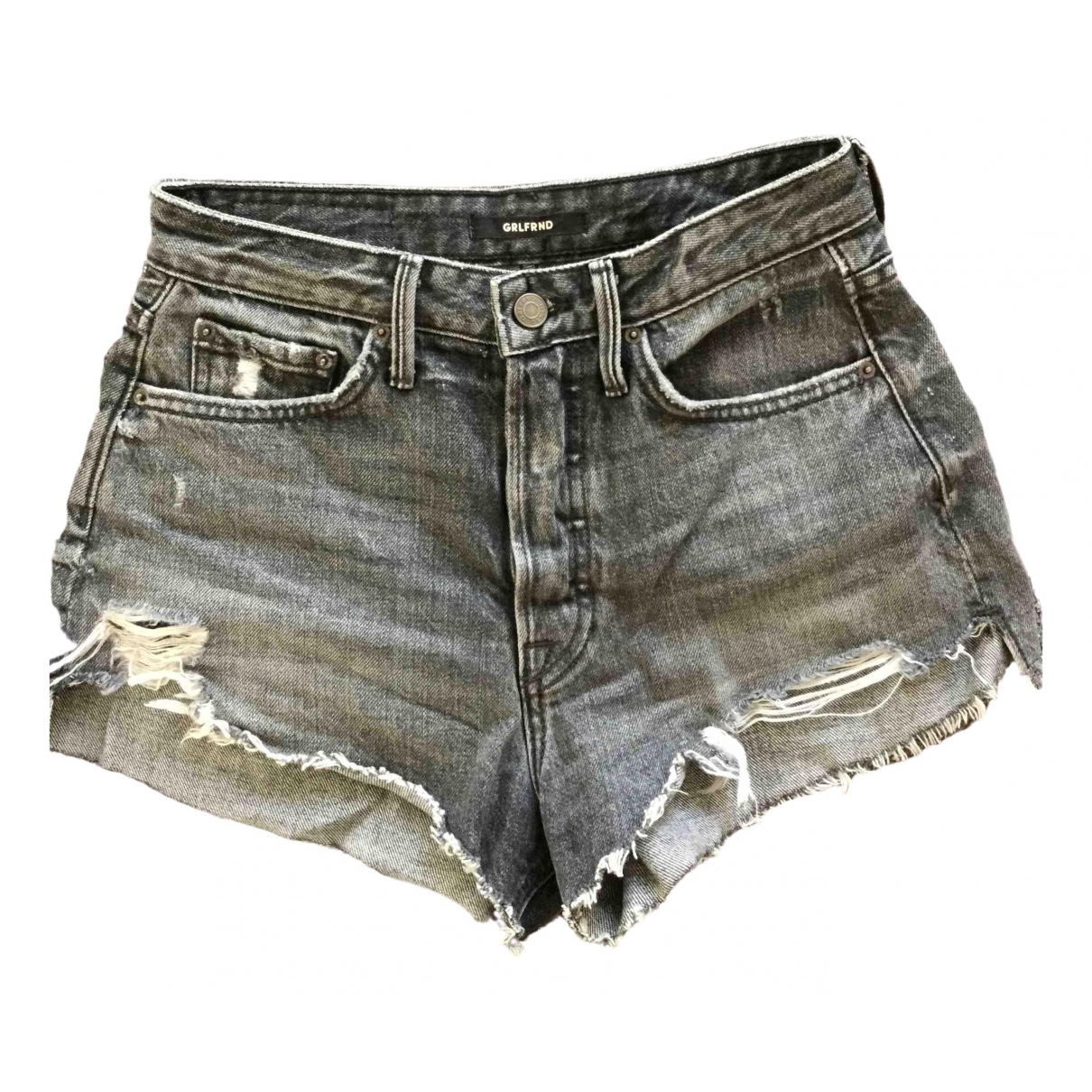 Grlfrnd \N Grey Denim - Jeans Shorts for Women 8 UK