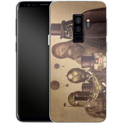 Samsung Galaxy S9 Plus Silikon Handyhuelle - Victorian Wars von Terry Fan