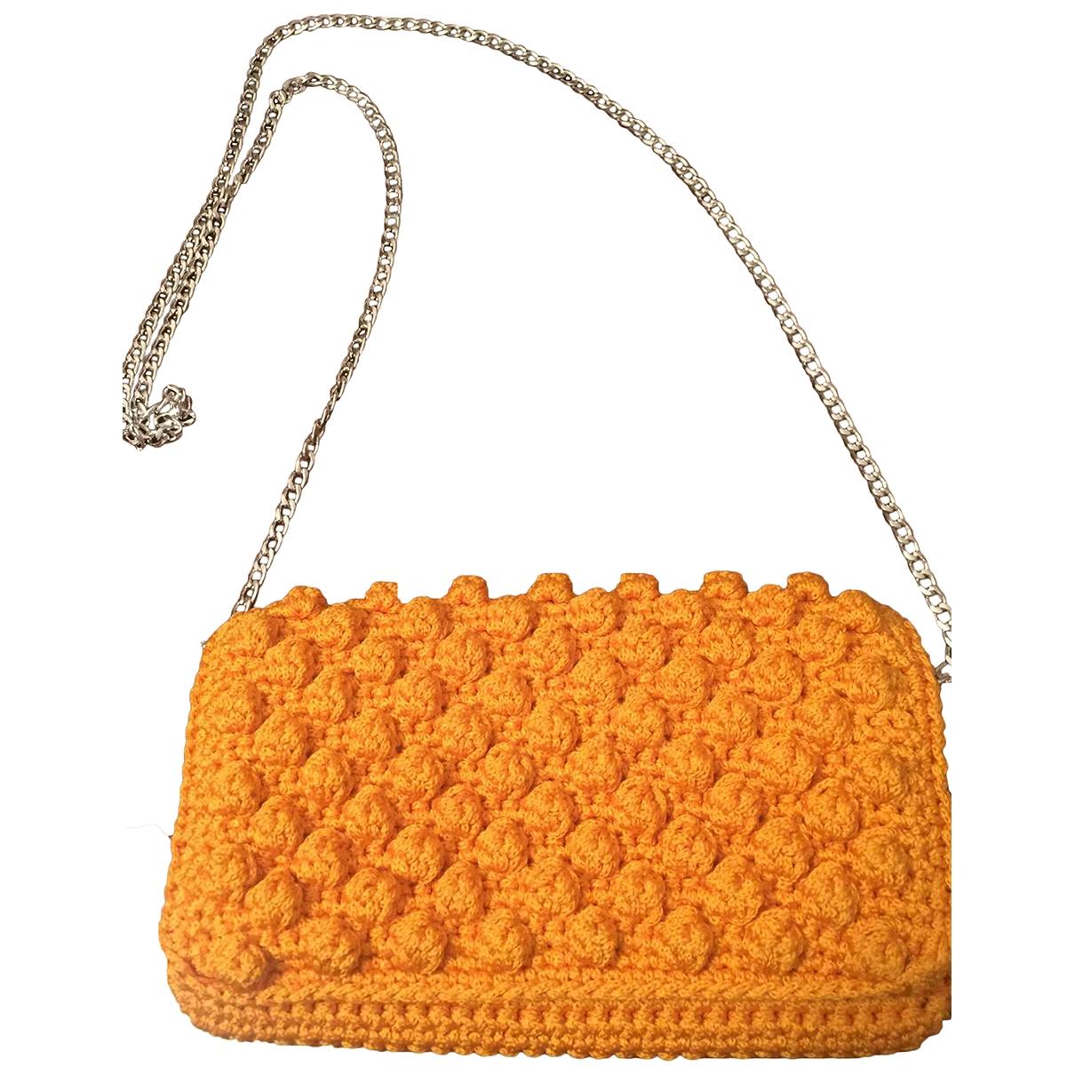 - Pochette   pour femme en coton - orange