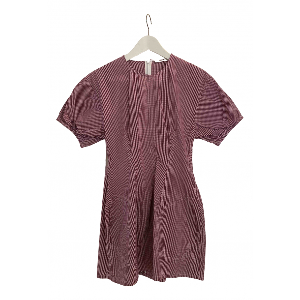 Celine - Robe   pour femme en coton - rose