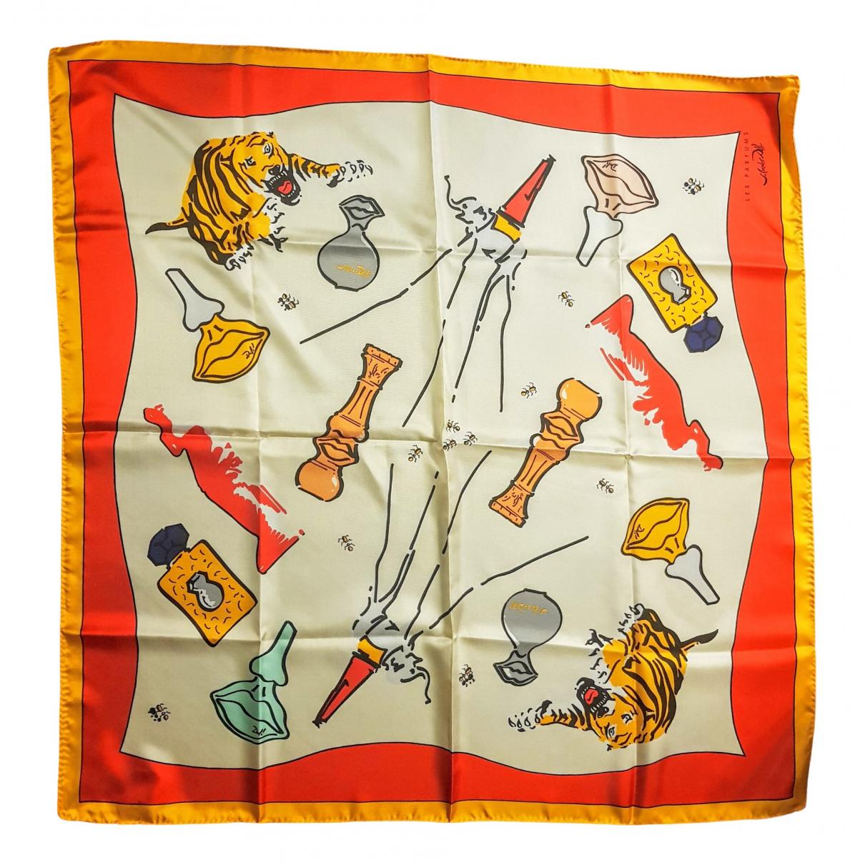 Salvator Dalì - Foulard   pour femme en soie - multicolore