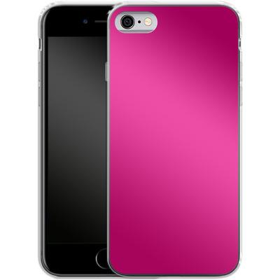 Apple iPhone 6s Silikon Handyhuelle - Test Magenta von caseable Designs